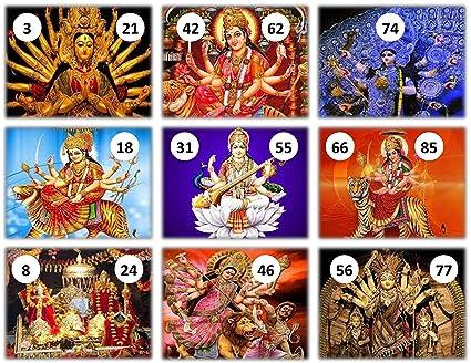 Feliz Devi Ji Theme Tambola Tickets Set of 16 (housie Tickets)