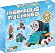 Ensemble de construction pour enfants (Jeux éducatifs électroniques) Kit de construction de jouet télécommandé Ingenious Machines –Le fantastique Kit Robot amusant & jouet de construction TG632 par ThinkGizmos Protection de marque (Toutes les piles sont fournies)