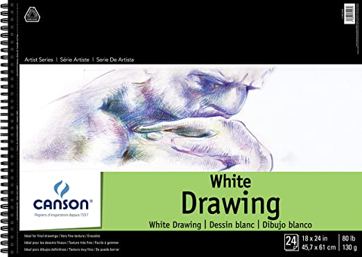 """Canson Artist Series Drawing Pad 9/""""x12/""""-classic Cream 24 Sheets"""