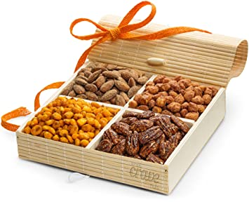Gourmet Nuts Gift Baskets ~ Holiday Nut Gifts Christmas Baskets or Thanksgiving Food Baskets ~  sc 1 st  Amazon.com & Amazon.com : Gourmet Nuts Gift Baskets ~ Holiday Nut Gifts ...