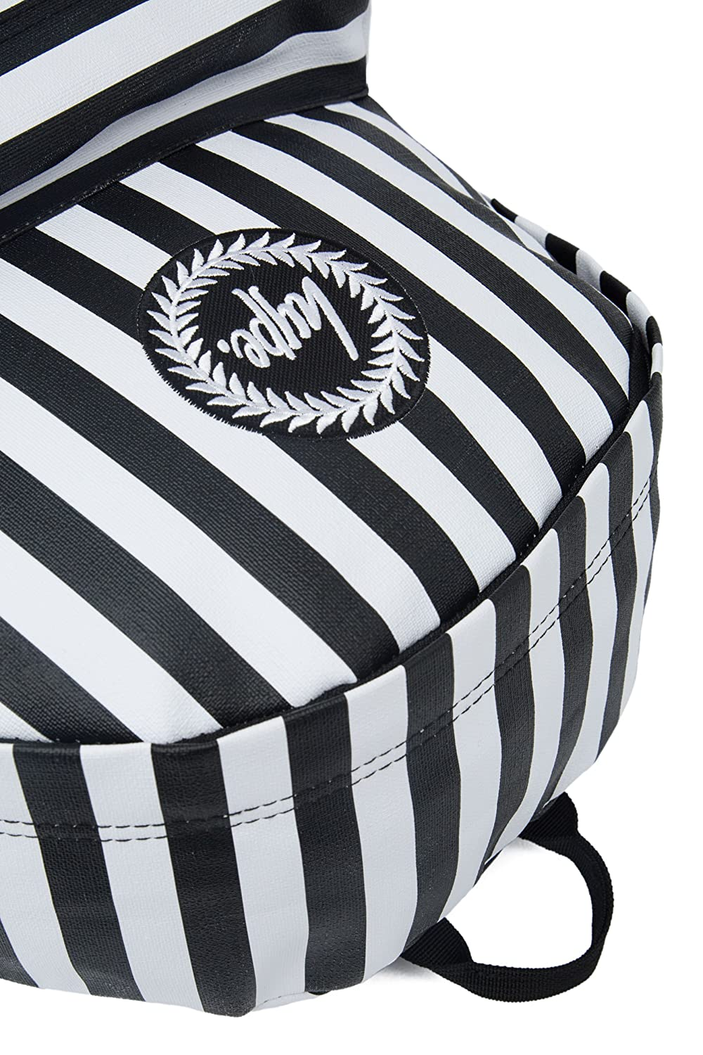 f90cb25880 Just Hype Humbug Backpack Black White  Amazon.co.uk  Clothing