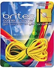 Alliance Rubber Corner to Corner Rubber Band -8.50-Inch Length x 0.63-Inch Width -3/Pack -Rubber -Yellow
