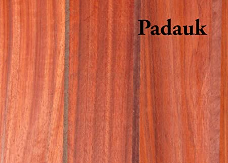 Padauk Lumber Board 3//4 x 6 2 Pcs 3//4 x 6 x 24