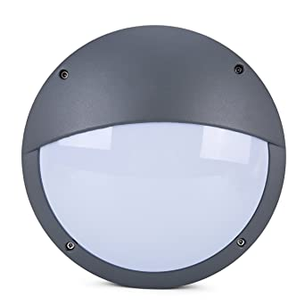 Lightess wall light led outdoor wall sconce modern globe bulkhead lightess wall light led outdoor wall sconce modern globe bulkhead surface mounted lighting 12w cold workwithnaturefo