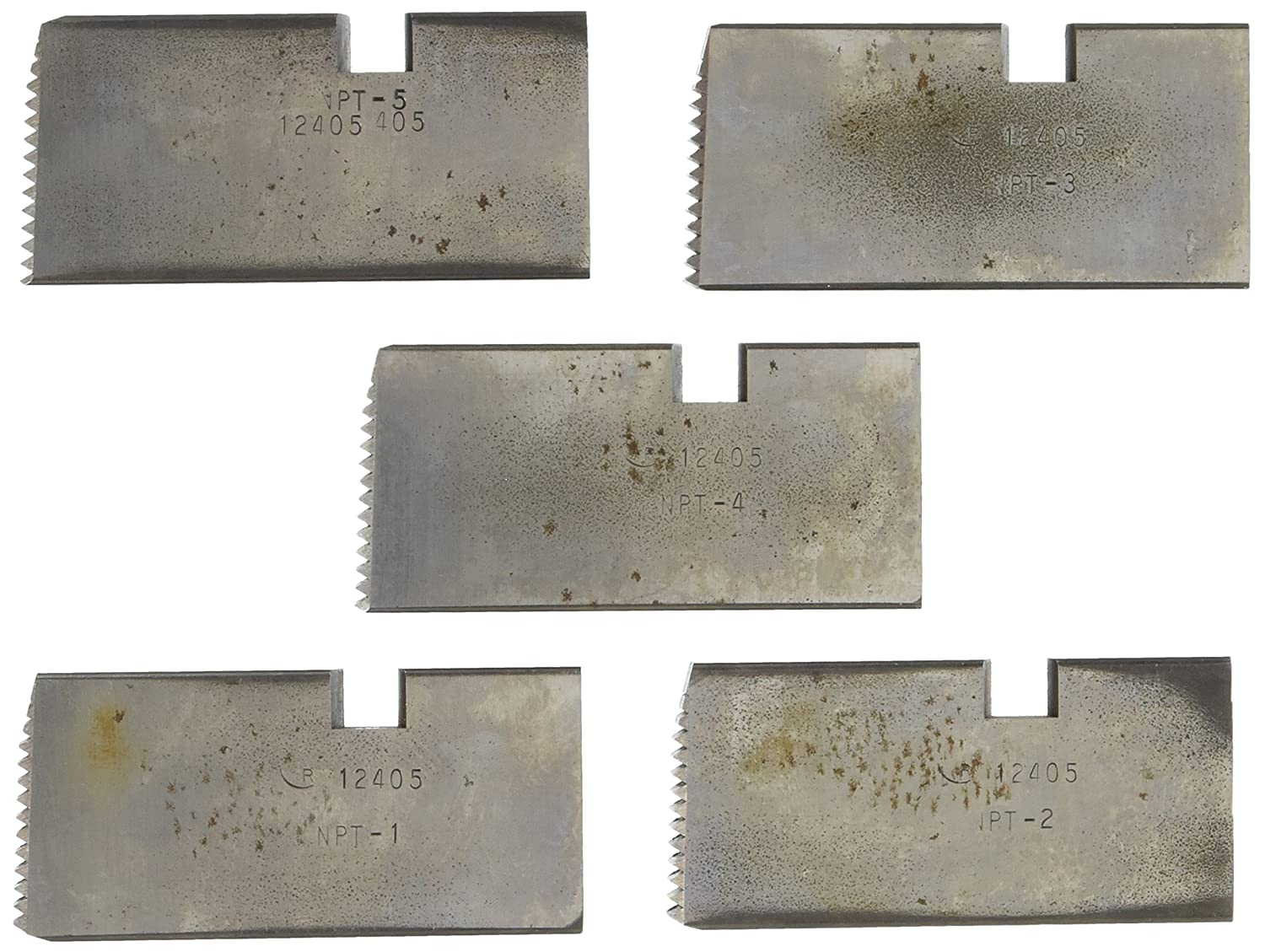 Rothenberger 00049 5-Inch Stainless Dies for Thread-O-Matic Pipe