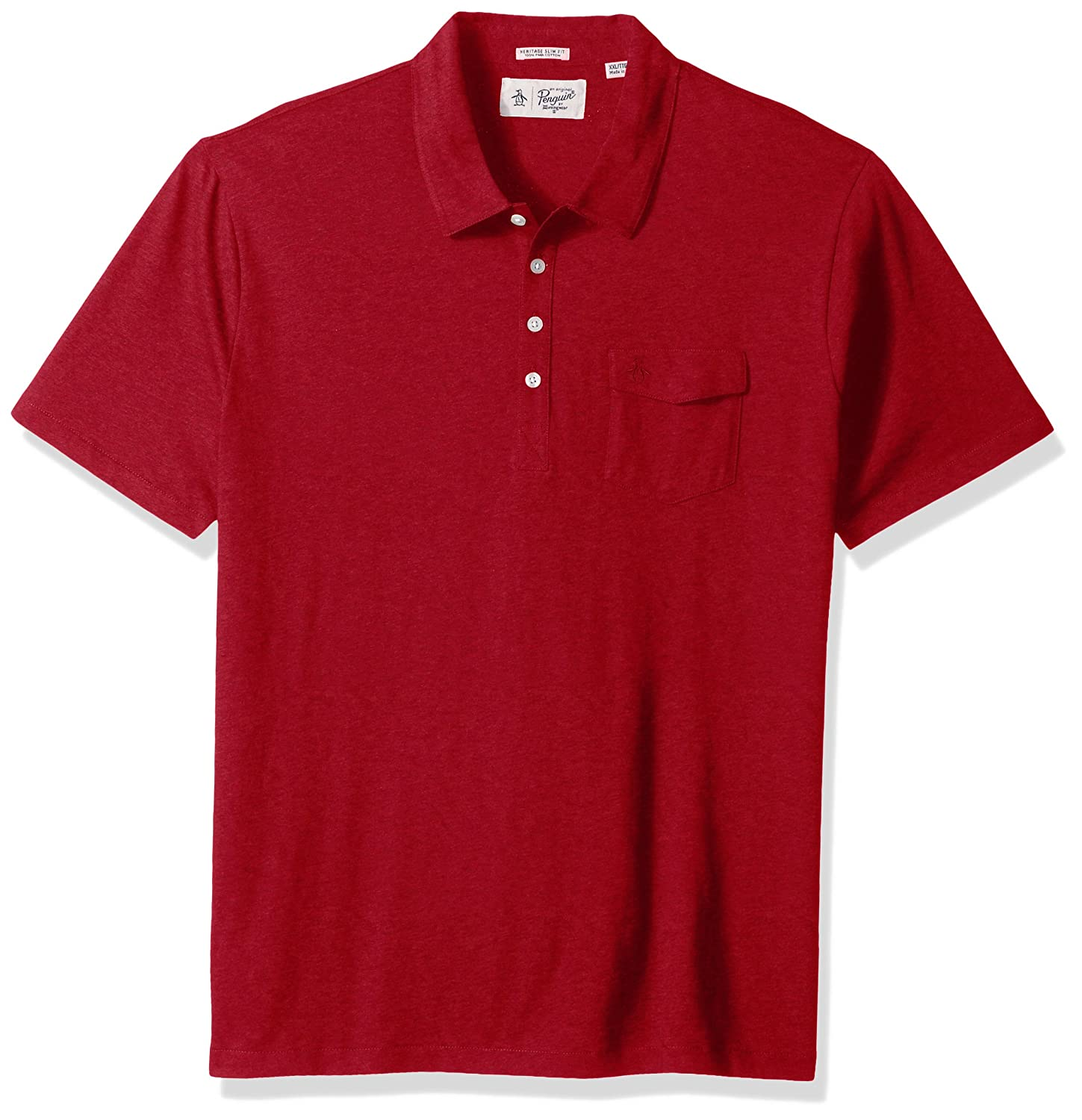 Amazon Original Penguin Mens Short Sleeve Jack 20 Polo Clothing