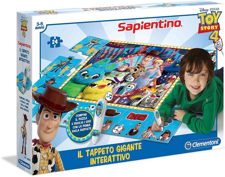 Tappeto Puzzle Clementoni- Sapientino Gigante Interattivo-Gormiti Multicolore 16193