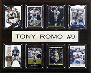 product image for NFL Tony Romo Dallas Cowboys 8 Card Plaque