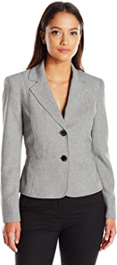 Kasper Womens Petite Size 2 Button Jacket