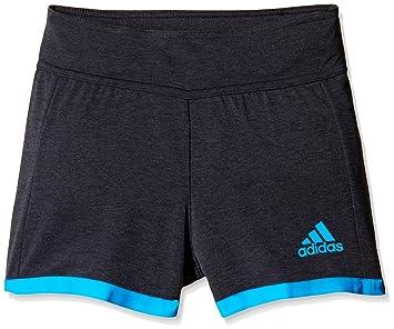adidas Mädchen Trainingsshort Climachill Short chill black mel chill blue  128 00ec764e68
