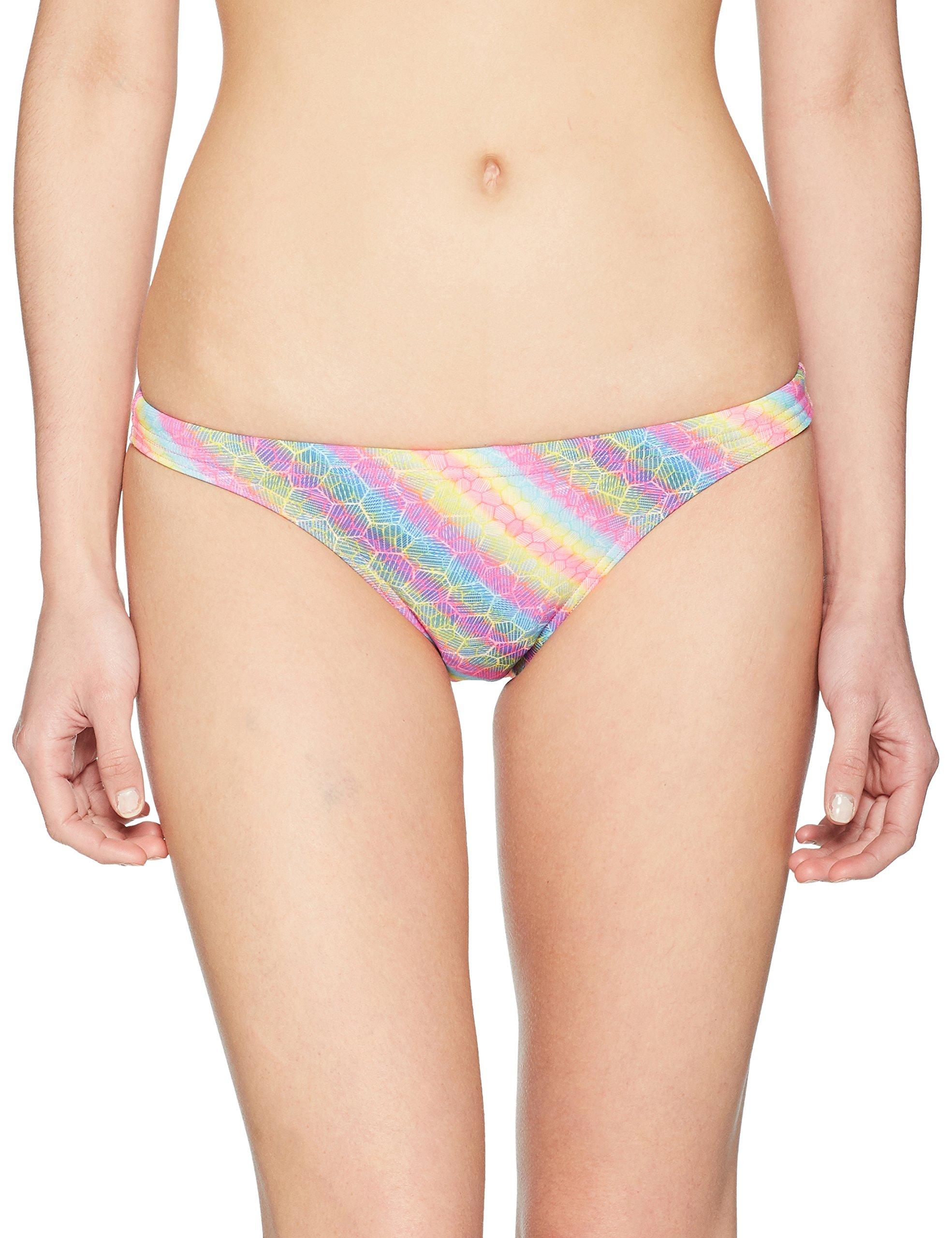 Arena Women's Rulebreaker Free Bikini Bottom Swimsuit, Paparazzi Multi, X-Large by Arena