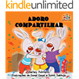 Adoro compartilhar: portuguese kids books, portuguese baby books,  portuguese books for children (Portuguese Bedtime Collection)