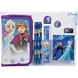 Disney Frozen 10 Piece Pencil Case And Stationery Gift Set
