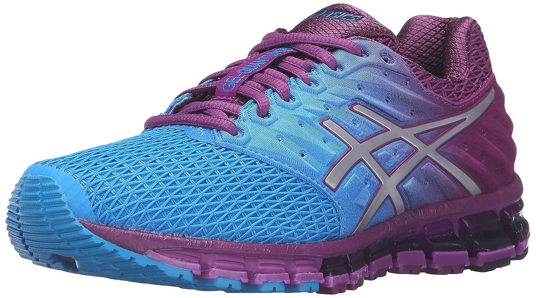 ASICS Women's Gel-Quantum 180 2 Running Shoe B017UT3ZAA 8 B(M) US|Blue Jewel/Silver/Phlox