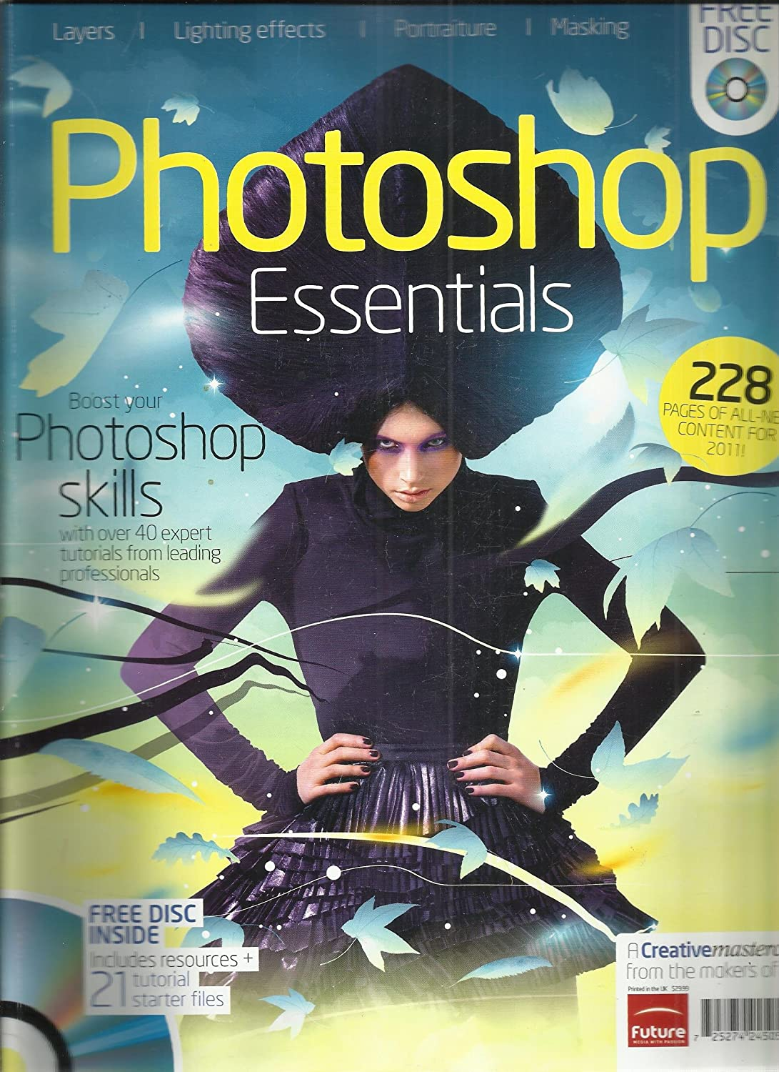 Amazon com : Creative Masterclass Magazine Photoshop