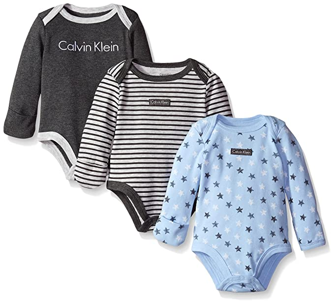 save off 96f61 283f5 Calvin Klein Bambino Body - Multicolore - 0-3 Mesi: Amazon ...
