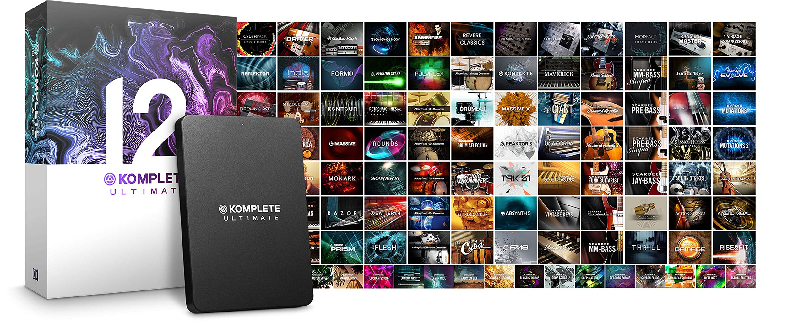 Native Instruments Komplete 12 Ultimate Software Suite by Native Instruments