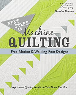 Beginner's Guide to Free-Motion Quilting: 50+ Visual Tutorials to ... : natalia bonner free motion quilting - Adamdwight.com