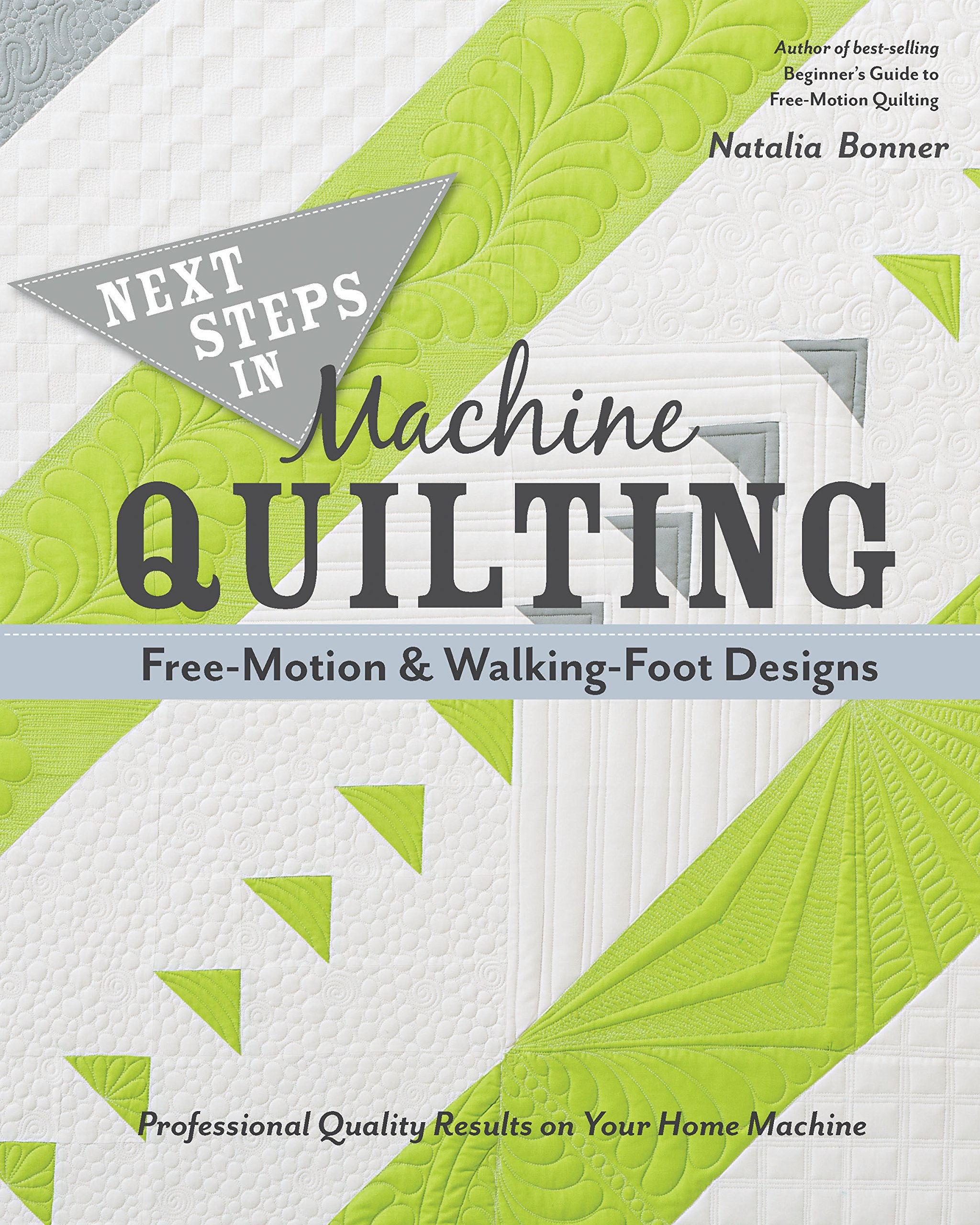 Read Online Next Steps in Machine Quilting - Free-Motion & Walking-Foot Designs: Professional Results on Your Home Machine PDF