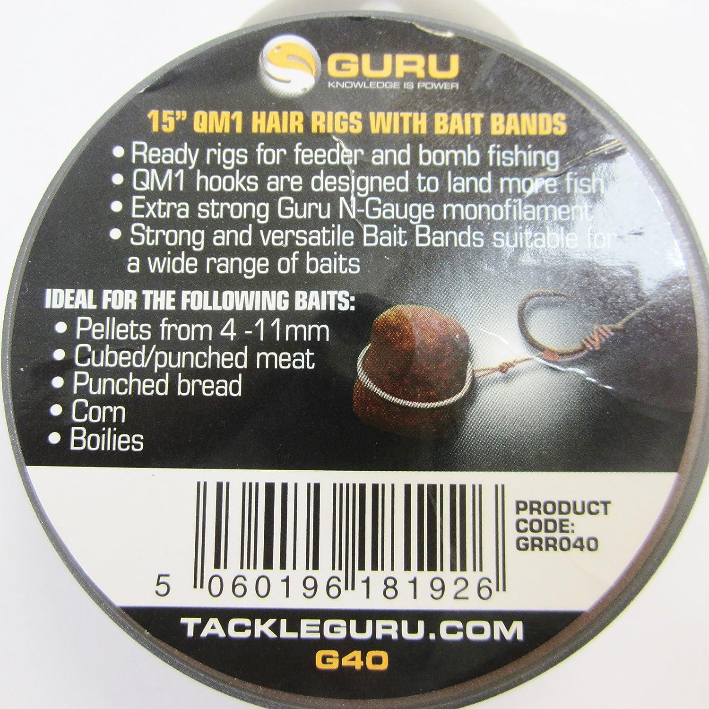 Guru Bait Bands 15Inch Size 16 Qm1