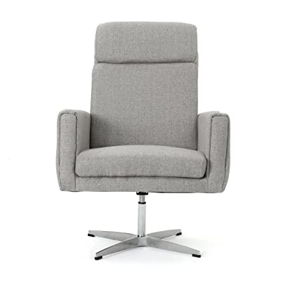 Hooper Swivel Arm Chair   Perfect For Home Office Or Living Room   Modern  Design  