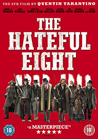 the hateful eight dvd amazon co uk samuel l jackson kurt