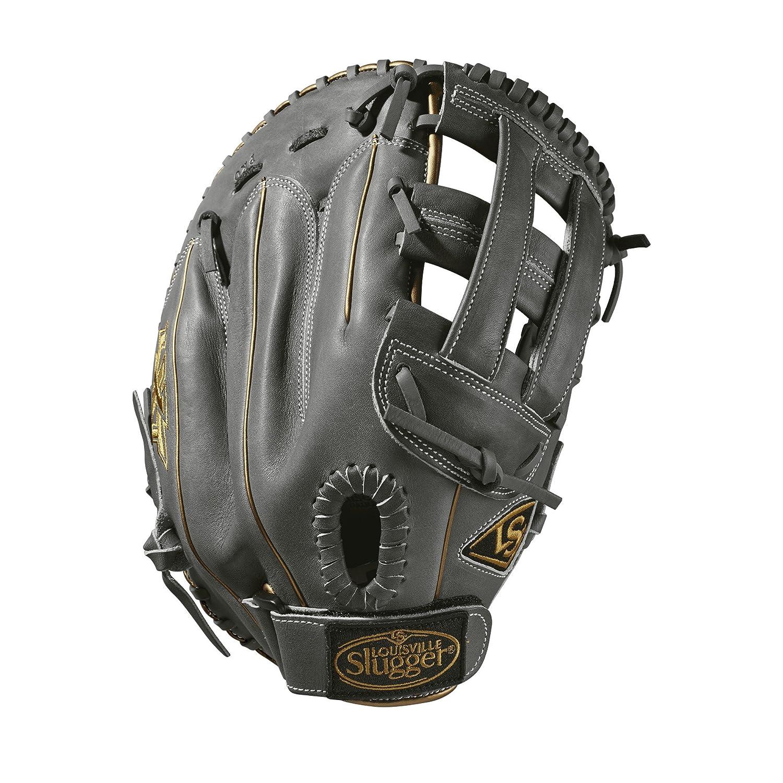 【国内発送】 Louisville Slugger 2019 LXT - First Base Fastpitch Mitt 2019 Grey/Gold, - Right Hand Throw Deep Grey/Gold, 33cm B07FQNCHFX, トレンドビューティーヘルス:2b936e6c --- a0267596.xsph.ru