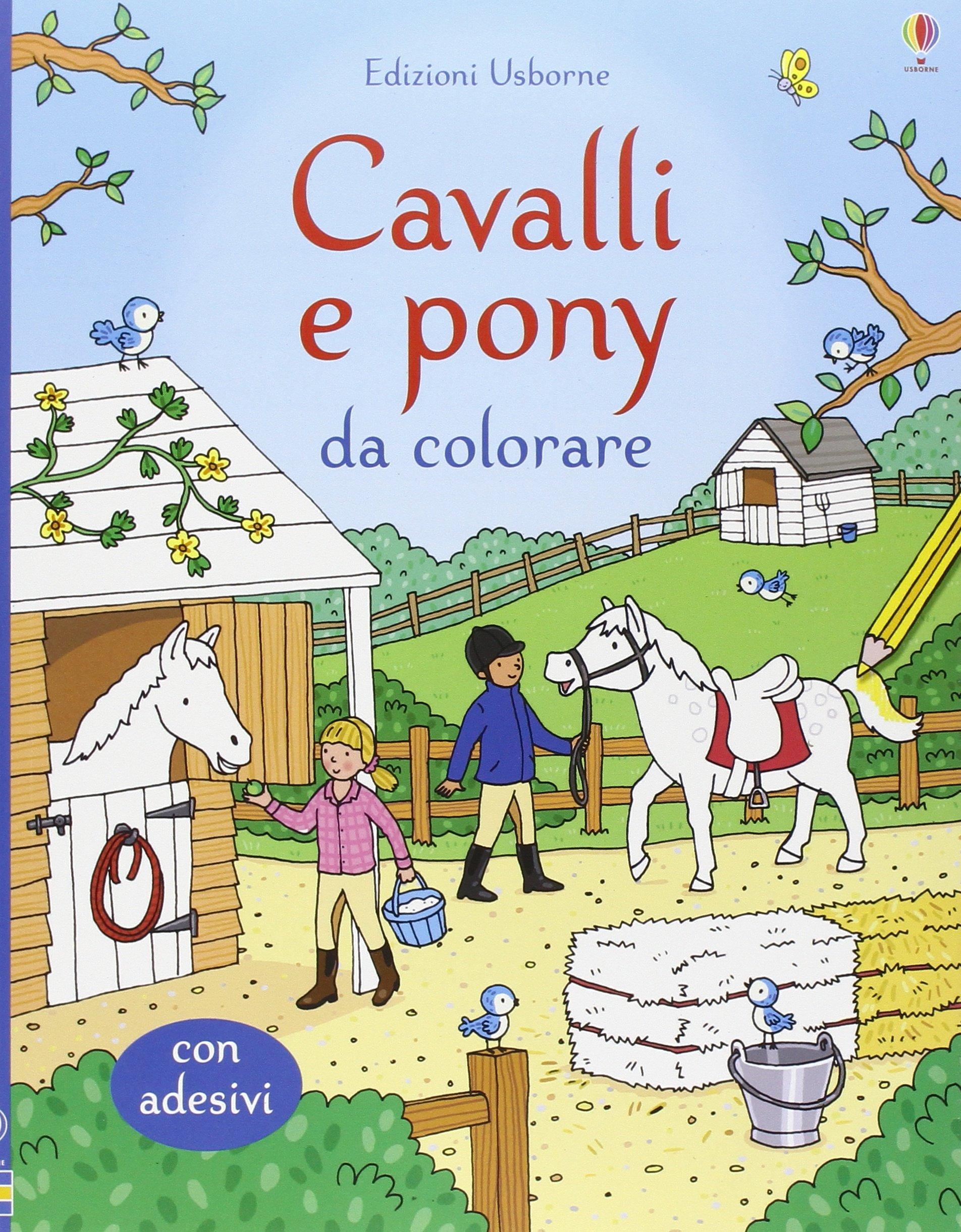 Amazon It Cavalli E Pony Da Colorare Ediz Illustrata