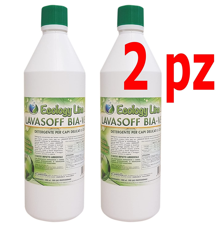 Detergente Lavadora lavasoff bia-ve 2 x 1kg, limpiador Ecológico ...