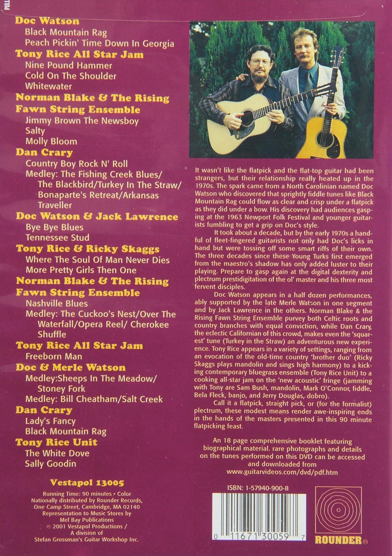 Legends Of Flatpicking Guitar Amazon Ca Dvd