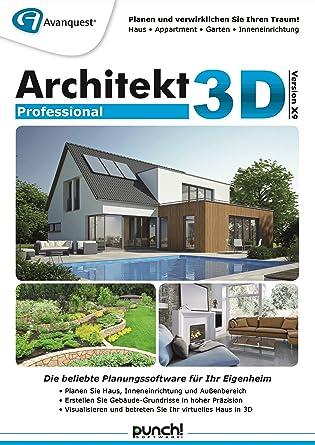 Architekt 3D X9 Professional   Planen Sie Ihr Eigenheim Daheim Am PC Ganz  Einfach Selbst!