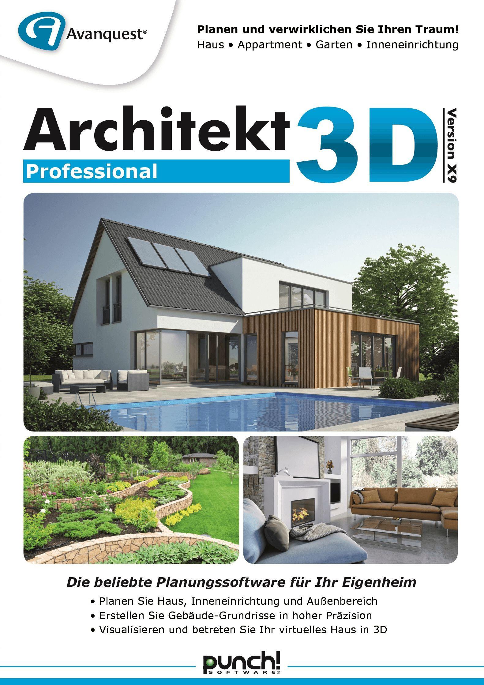 Architekt 3D X9 Home: Amazon.de: Software