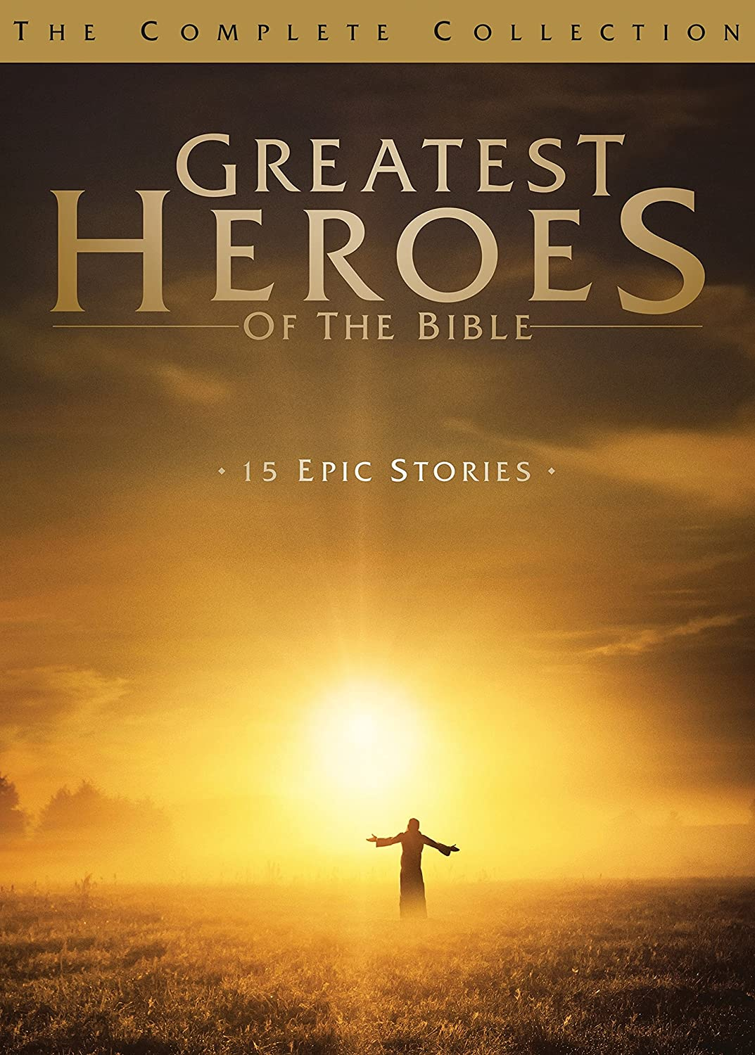 amazon com greatest heroes of the bible the complete collection