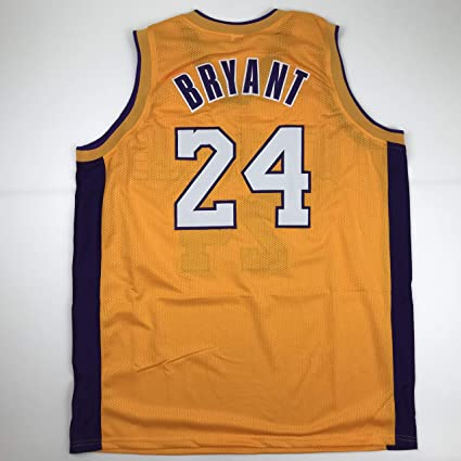 Unsigned Kobe Bryant #24 Los Angeles LA