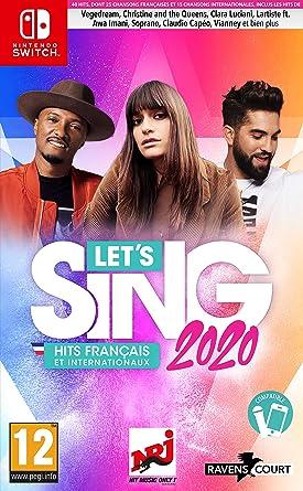 Lets Sing 2020 : Hits Français et Internationaux - Nintendo Switch [Importación francesa]: Amazon.es: Videojuegos