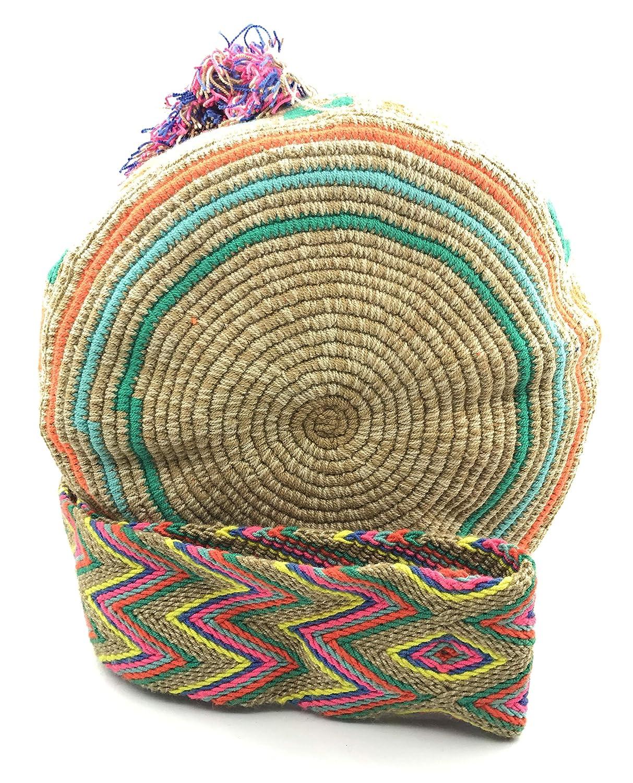 Sacs /à Main colombiens aux imprim/és Uniques Sac /à Dos Wayuu pour Hommes et Femmes.