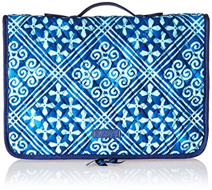 Amazoncom Vera Bradley Ultimate Jewelry Organizer Cuban Tiles