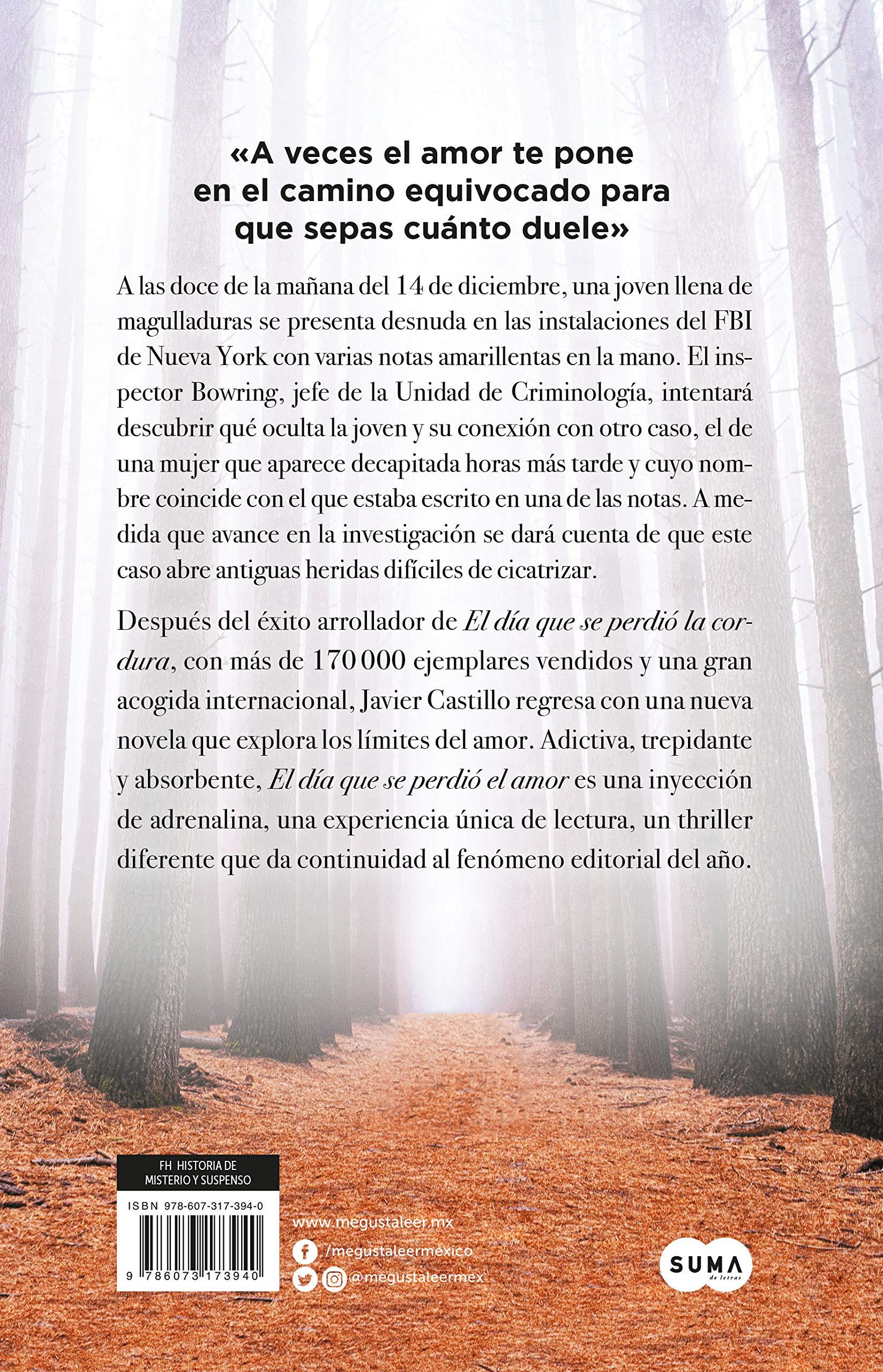 Dia Que Se Perdio El Amor El 9786073173940 Castillo Javier Books