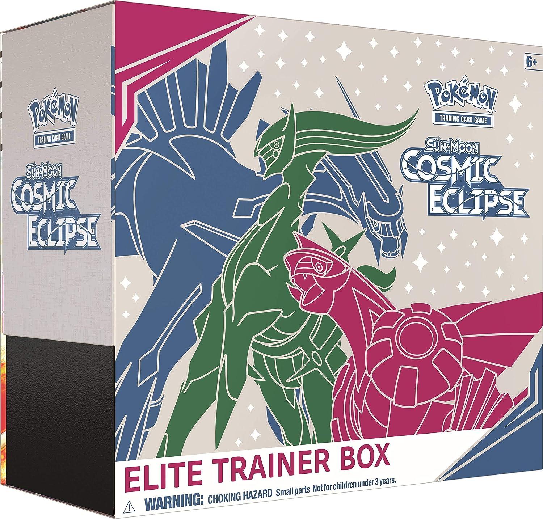 Pokémon POK80605 TCG: Sun & Moon 12 Cosmic Eclipse Elite Trainer ...