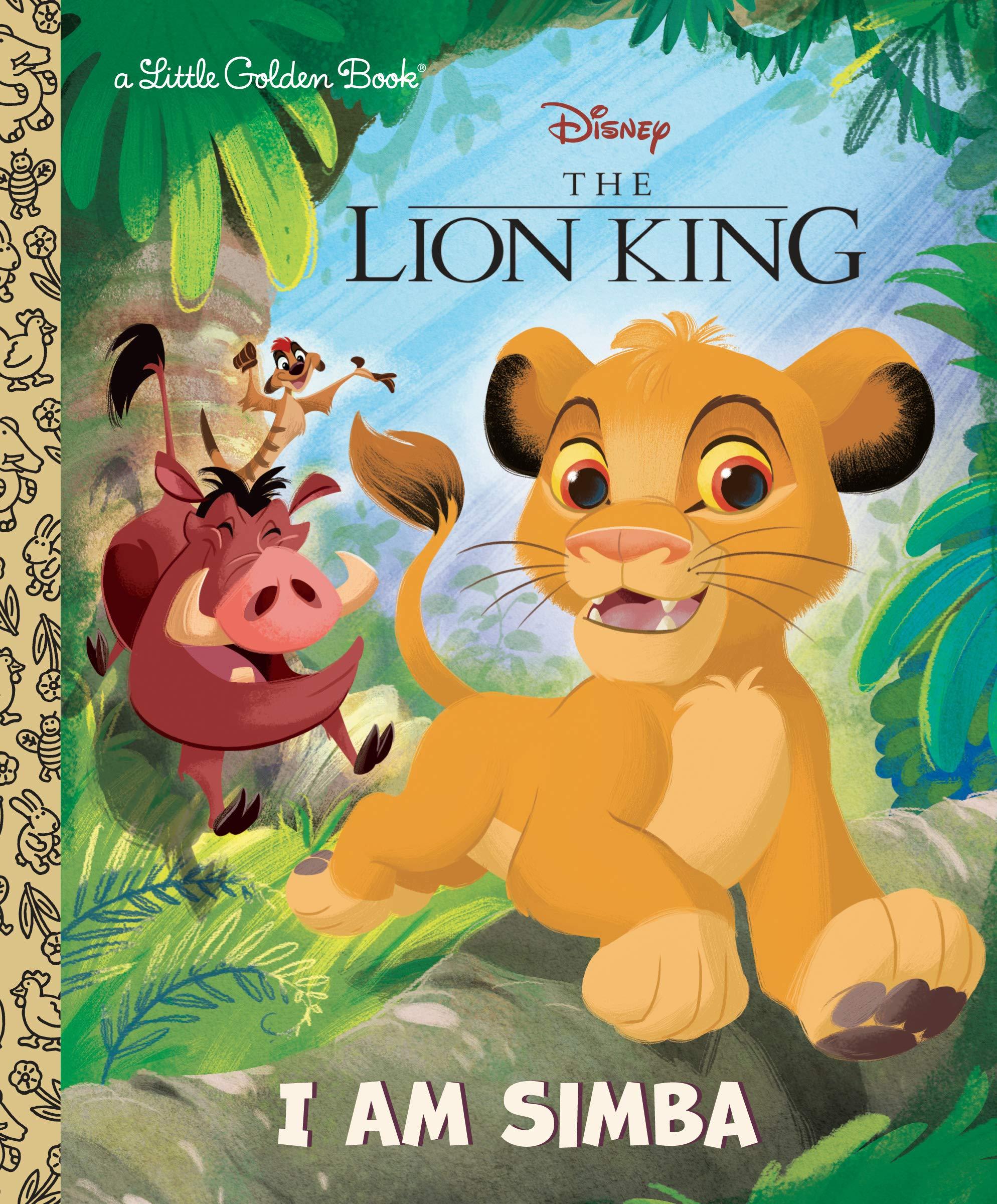 Simba Disney Lion Little Golden
