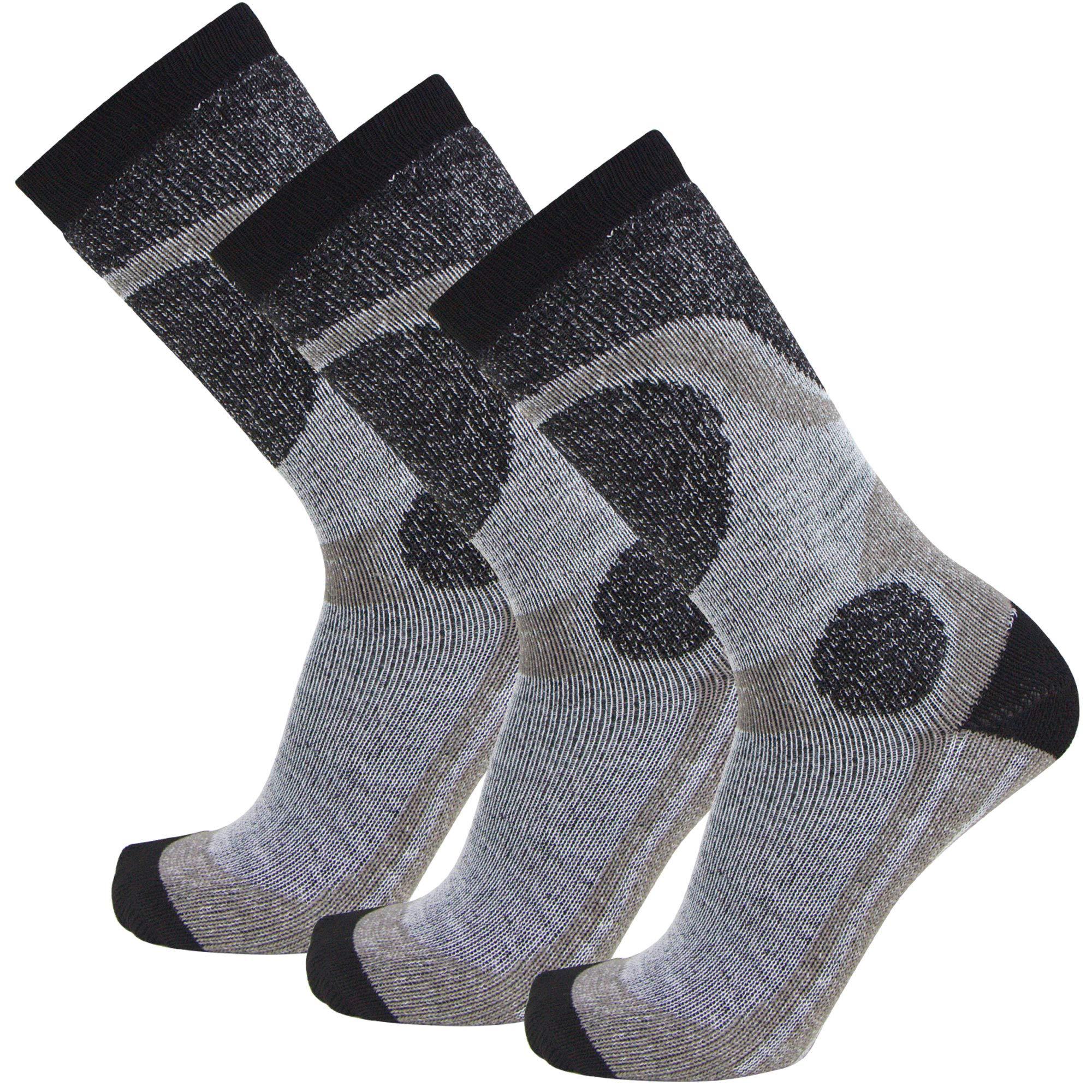 Pure Athlete Elite Ski Socks for Boys and Girls - Kids Merino Wool Youth Snowboard