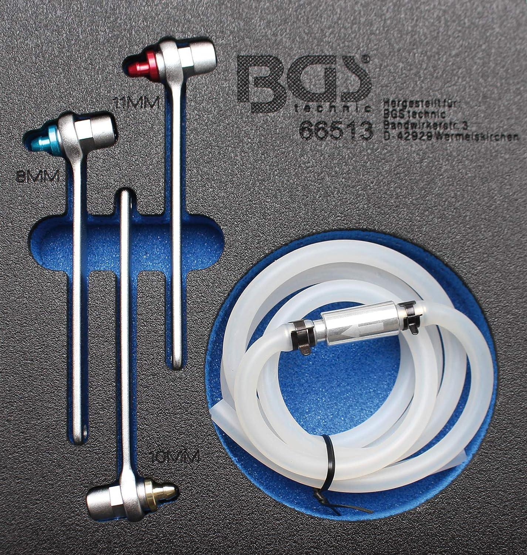 BGS 66514 9-10 6-tlg. 7-8 Bremsen-Entl/üfterschl/üssel-Satz 11 mm