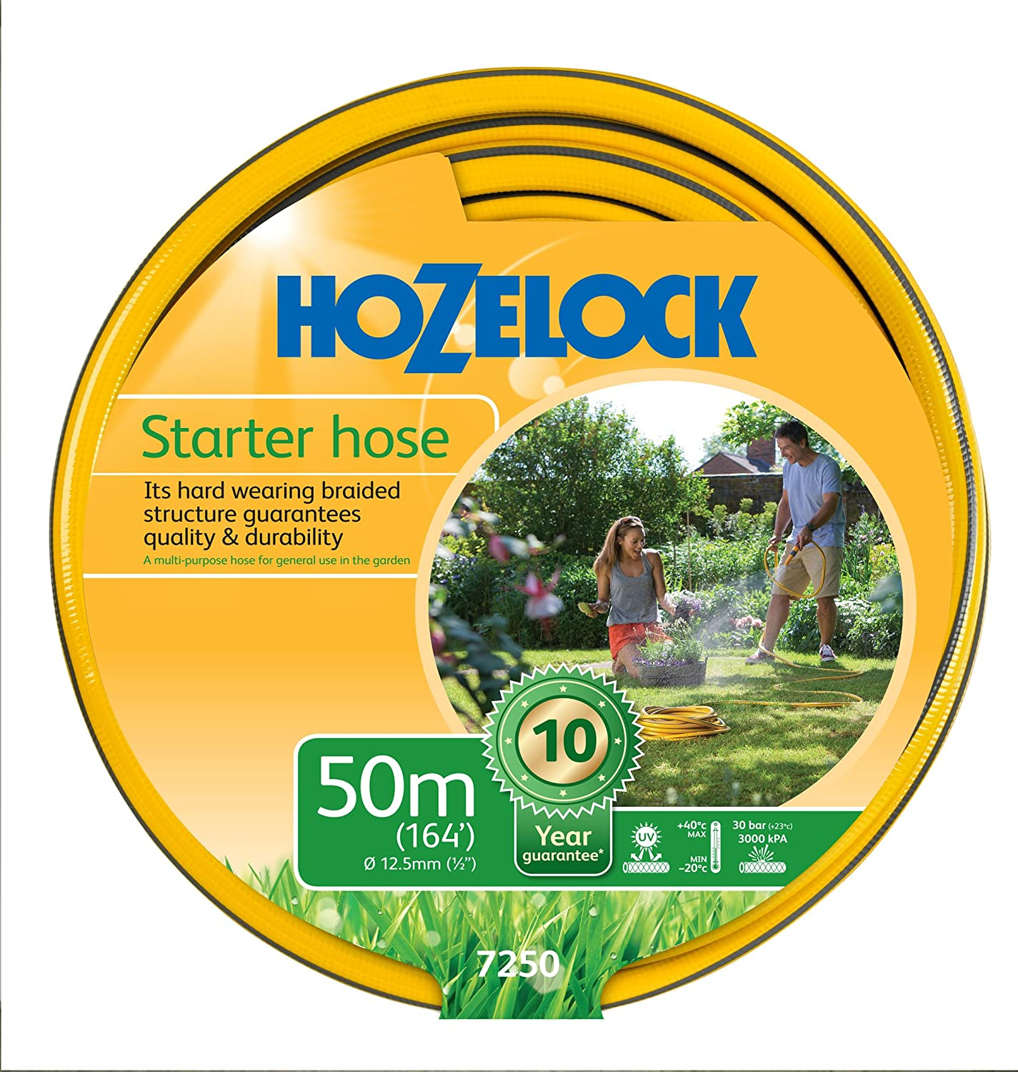 Hozelock Maxi Plus Garden Hose 30 Metre 12.5mm Diameter