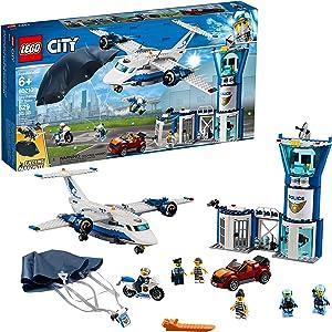 LEGO City Sky Police Air Base 60210 Building Kit, 2019 (529 Pieces)