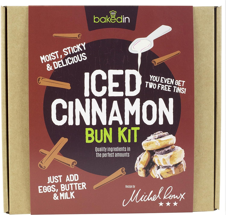 Bakedin Iced Cinnamon Bun Kit 615g