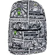 Bioworld The Legend of Zelda Game Drawings Sublimated Backpack 0e0d4cc88a0a5