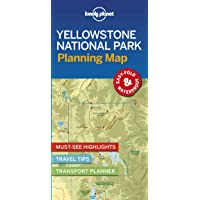 Lonely Planet Yellowstone National Park Planning Map 1st Ed.