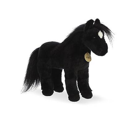 """Aurora - Miyoni - 12"""" Black Horse: Toys & Games"""