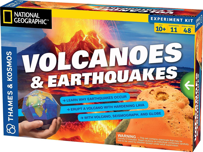 Amazon.com: Thames & Kosmos Volcanoes and Earthquakes: Toys & Games