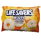 Life Savers Orange Mints (Pack of 2) 13-Ounce bags